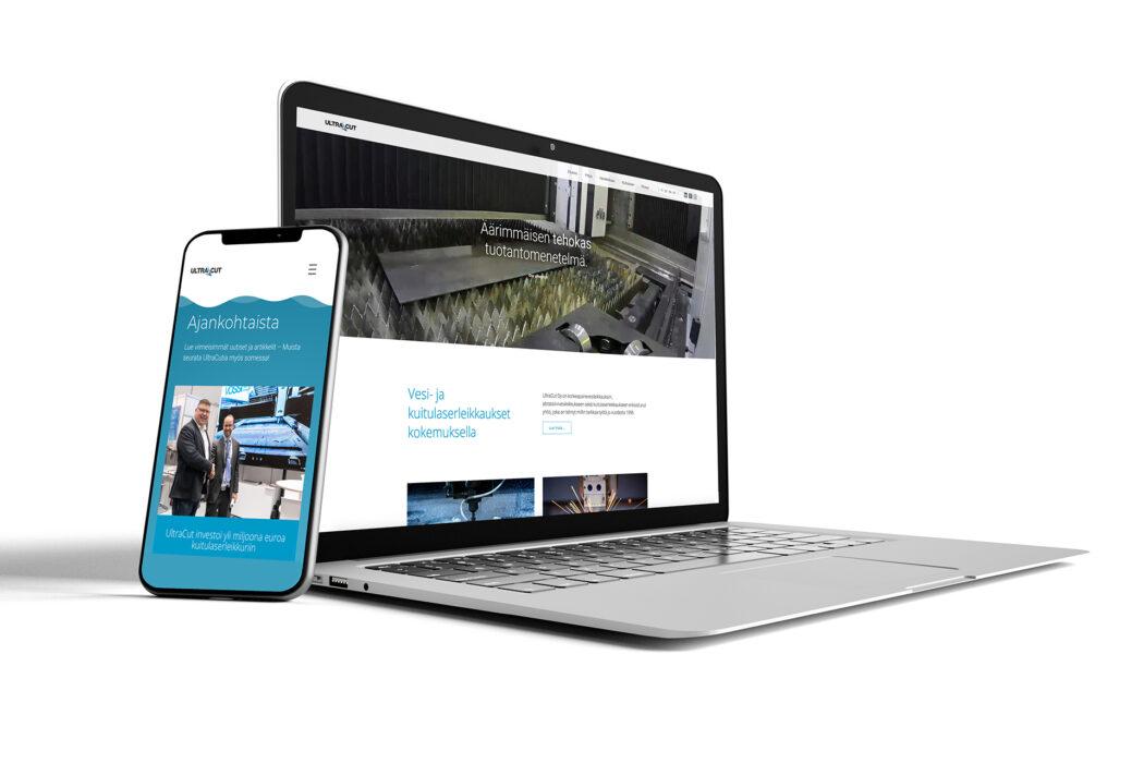 UltraCut on julkaissut uudet verkkosivut!
